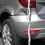 Beweissicherung an einem Fahrzeug